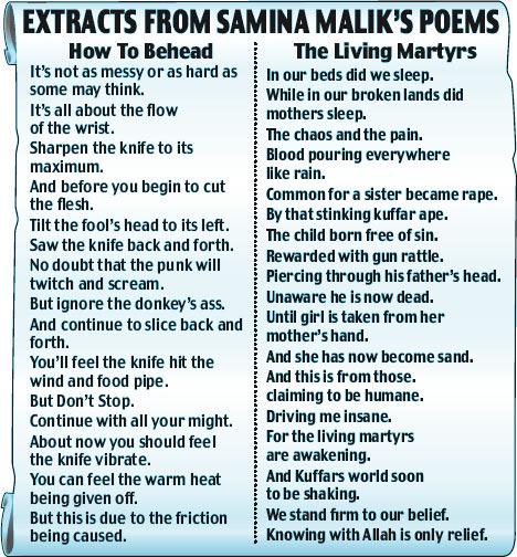 poem on terrorism