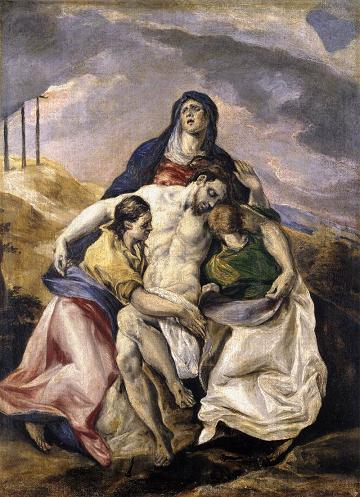 El Greco\'s Pieta