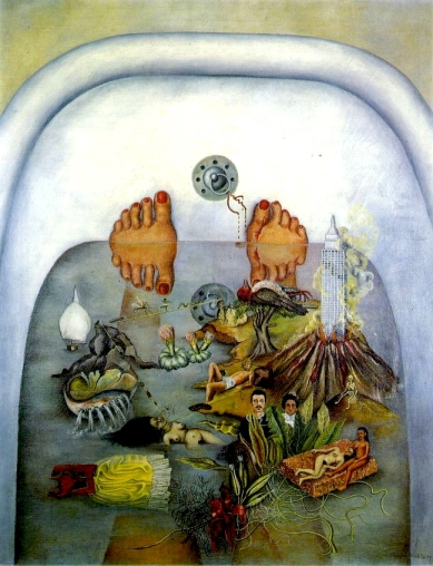What The Water Gave Me, by Frida Kahlo